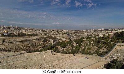West Jerusalem flight - Beautiful video flying over west...