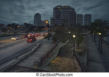West Palm Beach at Night