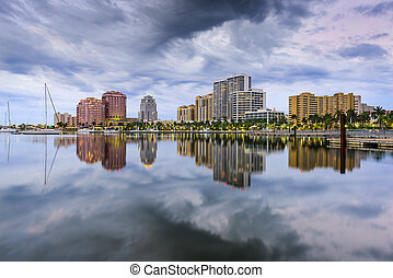 West Palm Beach Florida - West Palm Beach, Florida, USA...