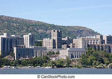 West Point taken from across the Hudson River.