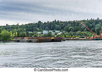 West Seattle Barge