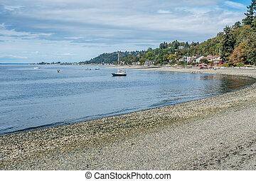 West Seattle Coastline
