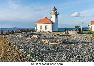 West Seattle Shoreline Lighthouse 2