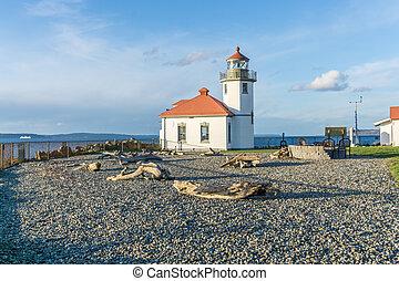West Seattle Shoreline Lighthouse 3