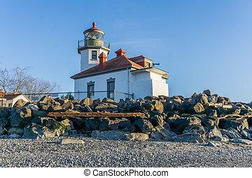 West Seattle Shoreline Lighthouse 6