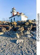 West Seattle Shoreline Lighthouse 7