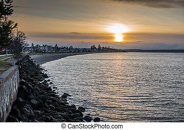 West Seattle Sunset 4