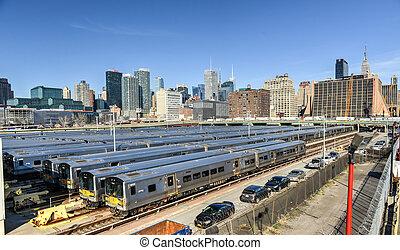 West Side Train Yard - The West Side Train Yard for...