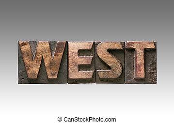 West vintage type