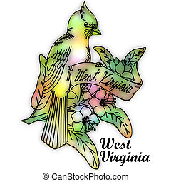 West Virginia state bird