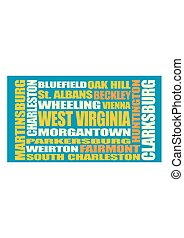 West Virginia state cities list
