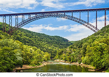 West Virginia's New River Gorge Bridge is one of the longest and highest spans in the world.