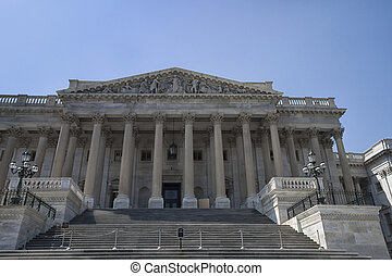 West Wing of US Capitol Building