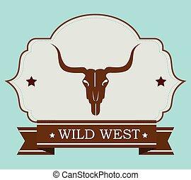 westen, wild, kultur