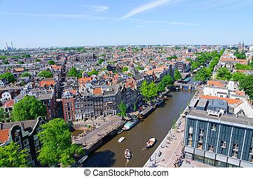 westerkerk, amsterdam, vista