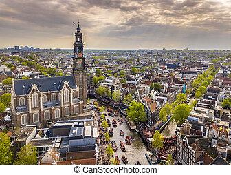 Westerkerk Kings day