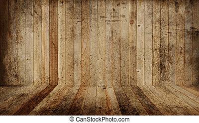 Western barn - Western cedar plank floor and wall. Add your...