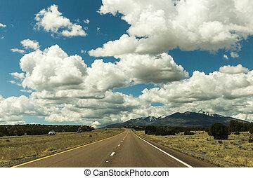 Western Highway in Summer