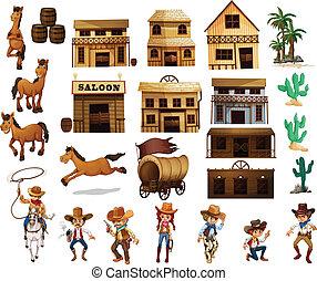 western, kowboje