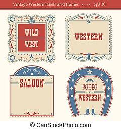 Western labels.