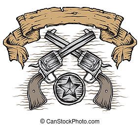 western, pistolety