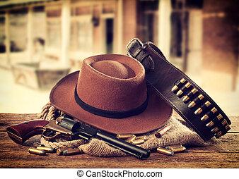 western, przybory
