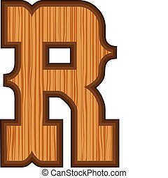 Western R letter