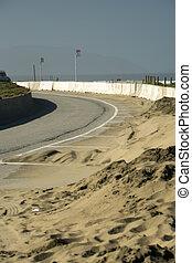 Western USA Pacific coast in California