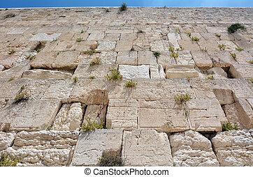 Western Wall in Jerusalem Israel