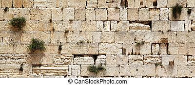 Western wall (Wailing Wall). Jerusalem. Israel.