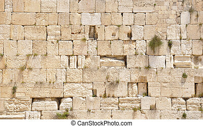 Western (Wailing) Wall. Jerusalem Old City
