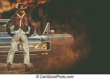 Cowboy Vintage Ride
