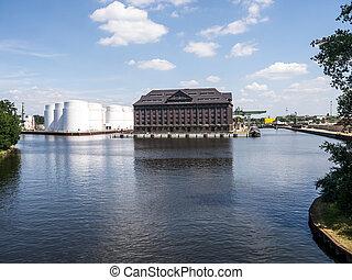 westhafen berlin, harbor