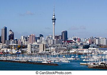 Westhaven Marina - Auckland - AUCKLAND, NZ - JUNE 02:...