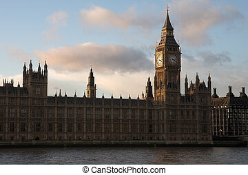 The buildings of the House of Parliament and Big Ben