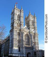 Westminster Abbey at day, London