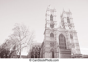 Westminster Abbey, London; England; UK