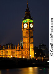 westminster abtei, mit, big ben, london