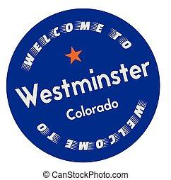 westminster, bienvenida, colorado