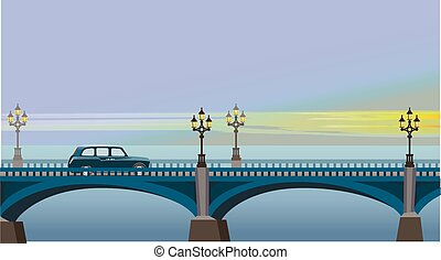 Westminster Bridge - Cab rides to the sights of London