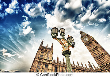 Westminster Palace in London.