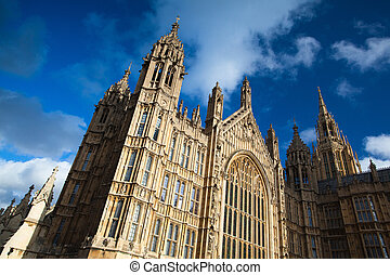 Westminster palace - Westminster in London in England