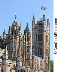 Westminster Palace with the tower