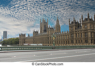 Westminster, the Parliament Building in London London