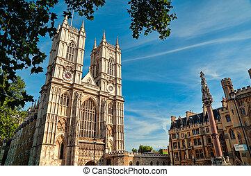 westminster, uk., abadía, londres