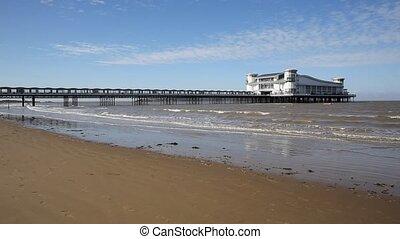 Weston-super-Mare beach Somerset - Beach Weston-super-Mare...