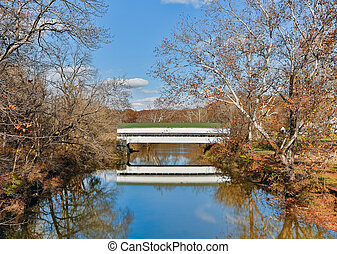 westport, インディアナ, 覆われた 橋