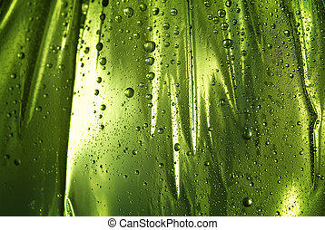 wet background with drops