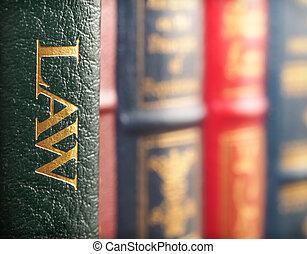 wet boek, concept