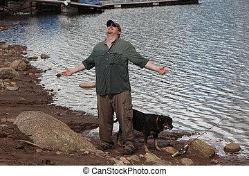 Wet Fisherman